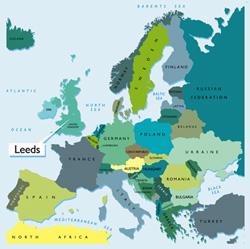 Leeds No ordinary city Location maps